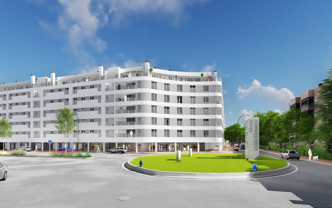 Anteproyecto Edificio de viviendas en Alcalá de Henares
