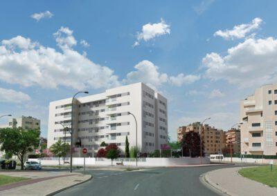 Anteproyecto Edificio de viviendas El Bercial