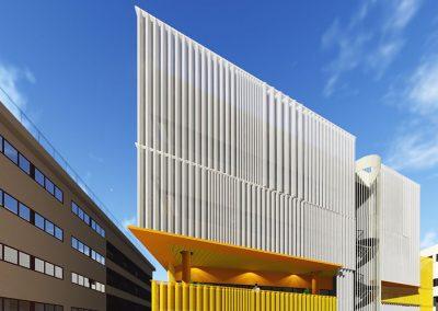 Nueva fachada en edificio de oficinas. Propuestas