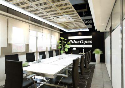 Transformación oficinas Copco