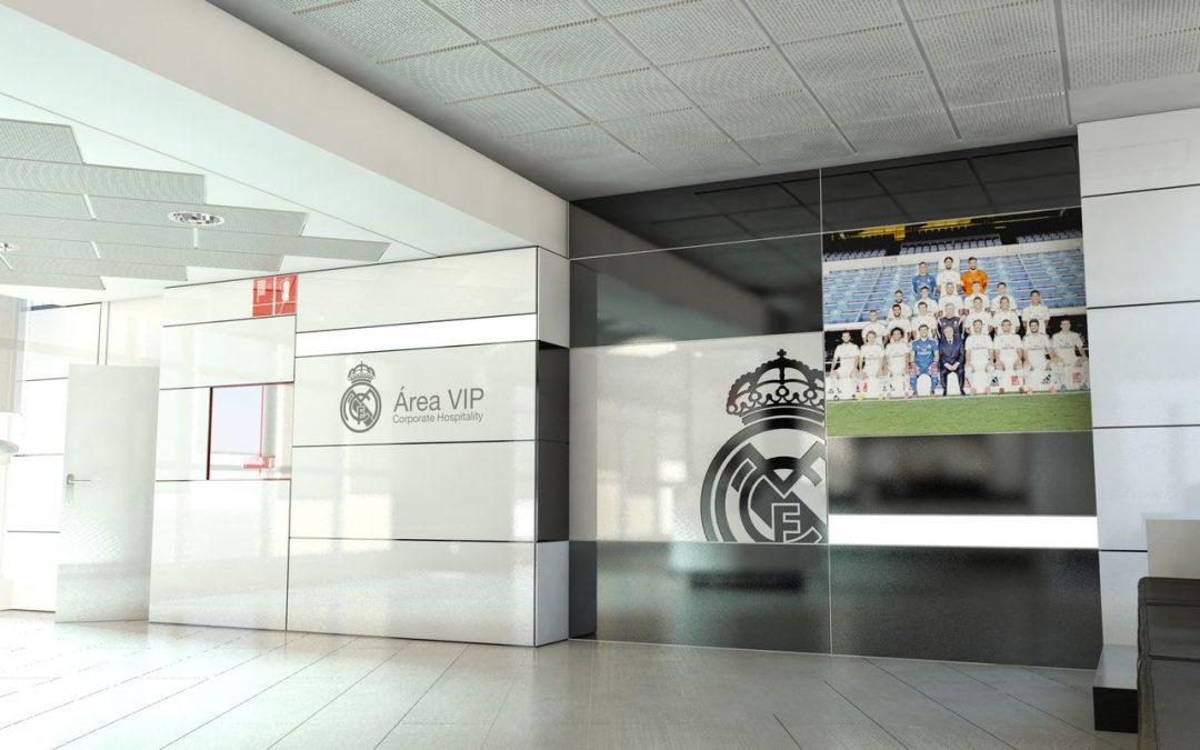 Acondicionamiento zonas estanciales Estadio Santiago Bernabéu