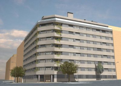 Conjunto residencial – Madrid