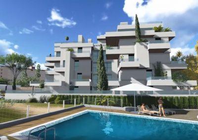 Promoción viviendas en Alcobendas