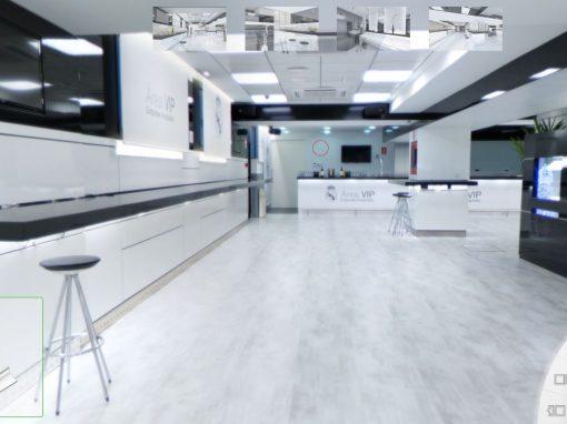 Recorrido virtual Área VIP Real Madrid